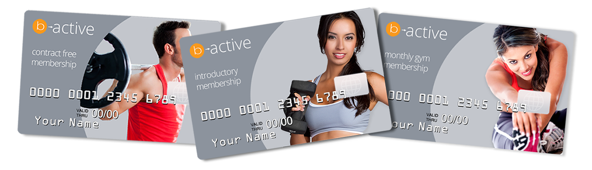 Gym Membership Cards